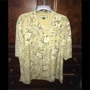 Tommy Bahama Men's Hawaiian shirt 100% silk